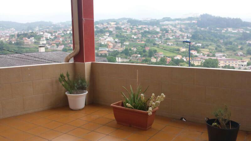 terraza apartamento vigo