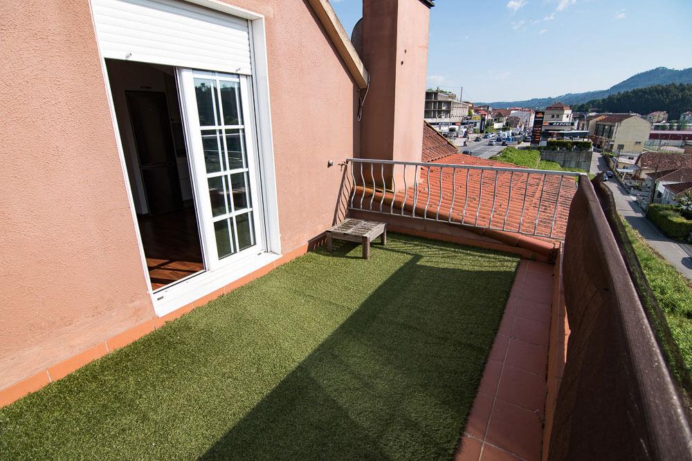 atico terraza redondela