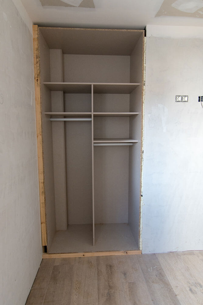 interior armario viviendas