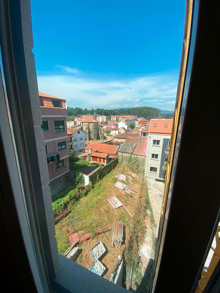 vistas nuevas viviendas redondela